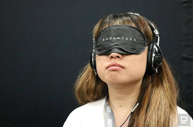 I took a break at SXSW to listen to an 'audio-based movie'