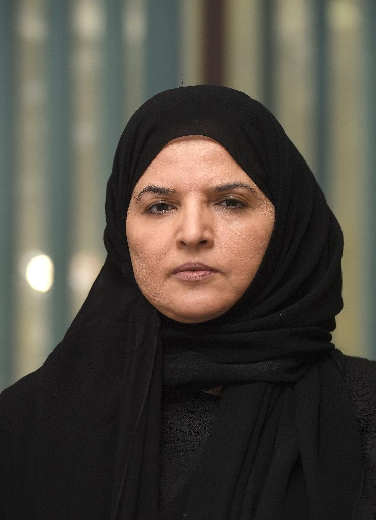 Saudi activist and campaigner Aziza al-Yousef is pictured during an interview in Riyadh on September 27, 2016 (AFP Photo/FAYEZ NURELDINE)