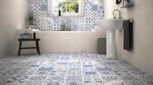 10 great combinations of bathroom tiles