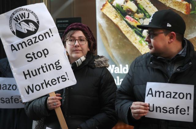 Labor regulators look into Amazon's firings of outspoken critics