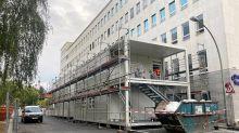 Corona-Virus: Gesundheitsamt Charlottenburg-Wilmersdorf bekommt Container