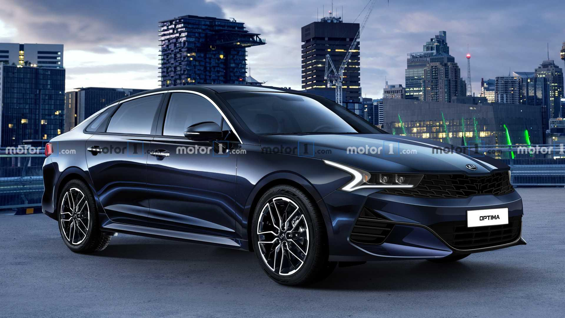 Exclusive: 2021 Kia Optima Could Look Like This