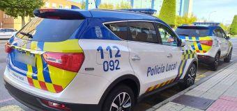 ¡Ver para creer! Dos coches chinos para la Policía Local de Burgos