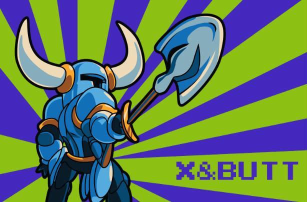 Shovel Knight cheat unlocks Butt Mode