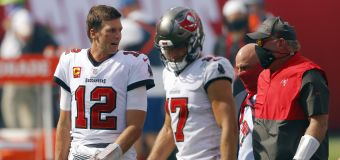 Brady's Bucs just warming up, and he wants more