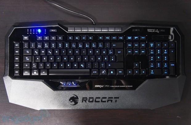 ROCCAT ISKU FX keyboard ships worldwide, lights up gaming for $100