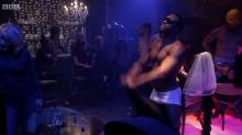 'EastEnders' viewers baffled over 'daytime strippers'