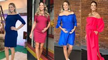Grávidas famosas e fashionistas: inspire-se em looks de todos os estilos!