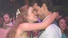 Marina Ruy Barbosa relembra casamento e se declara: 'Eu não conseguiria sem você'