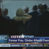 Bill Clinton hosts the hottest ticket in Philly