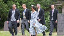 Meghan Markle wears floral £4,000 wedding guest dress, divides fans
