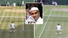 'It is insane': The eerily similar Roger Federer points seven years apart