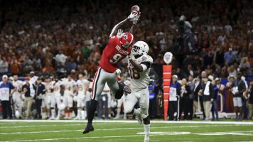 Georgia WR Jeremiah Holloman kicked off team