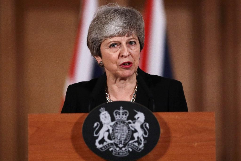 May is hoping to have a deal to present to European leaders at an emergency summit on Wednesday (AFP Photo/Jack Taylor)