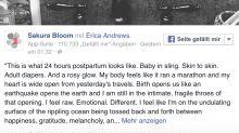 So sieht der Körper einer Frau 24 Stunden nach der Geburt aus