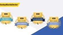 Stanley Black & Decker Wins Comparably Awards: Best CEO For Women, Best CEO For Diverse Employees, Best Leadership Team And Best Company For Professional Development