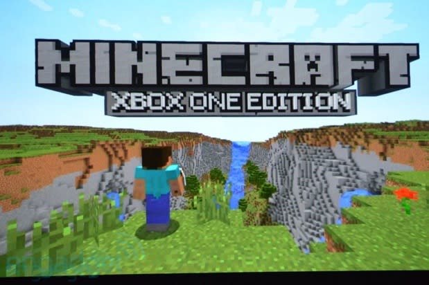 Minecraft coming to Xbox One with expanded multiplayer features