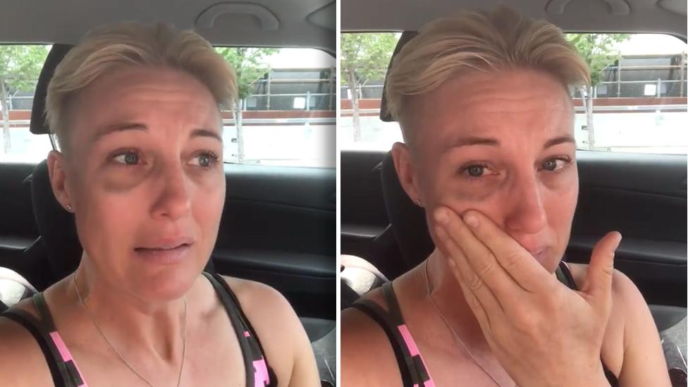 'I thought I was going to die': Mum's emotional video recalling after-work drink spiking