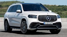 2021 Mercedes-AMG GLE 63 S and GLS 63 power into L.A. with 603 bhp