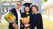 Benz Hui's daughter graduates with first-class honours
