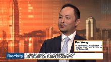 Huge Gains in Alibaba's Hong Kong Debut Doubtful, Eastspring's Wong Says