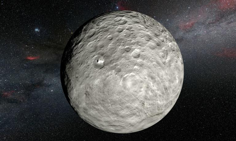 Dwarf planet Ceres a water-rich world, finds NASA probe