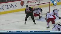 Eric Staal goes five-hole on Bobrovsky