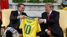 """Trump dice que Bolsonaro hizo un """"trabajo muy sobresaliente"""""""
