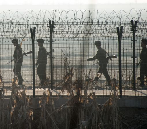 N. Korea soldier defects to S. Korea across border