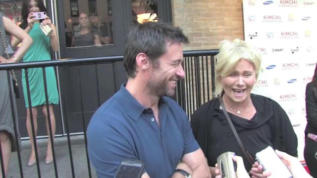 Hugh Jackman's Wife Bothered by Gay Rumors