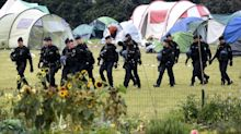 French riot police evict hundreds of migrants from Dunkirk camp as English Channel crossings continue