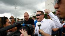 Três detidos por tiroteio após discurso de supremacista branco na Flórida