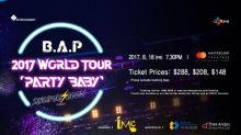 Tickets to K-pop group B.A.P's Singapore concert start from $148