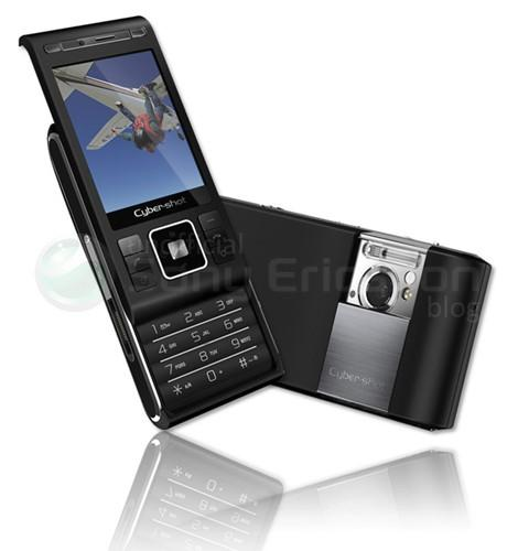 Sony Ericsson Cyber-shot C905 breaks cover with 8.1 megapixels in tow