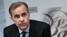 Pound up as Carney interest rate comments seen as 'hawkish'