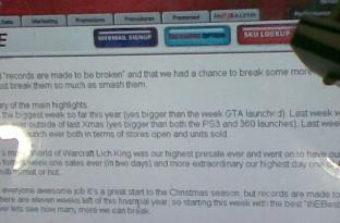 WotLK breaks internal records at EB Games
