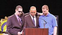 Crain's brother, friends speak at funeral