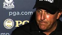 PGA Championship: Phil Mickelson 'didn't have pinpoint control'