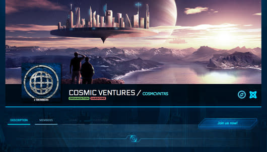 Discussing guild functionality with Star Citizen's Benoit Beausejour