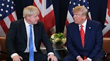 Boris Johnson At Odds With Donald Trump Over Tech Giants Tax