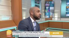 GMB weatherman interrupts debate with passionate outburst on knife crime
