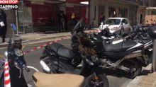 Nice : Un essaim d'abeilles a élu domicile sur un scooter (Vidéo)