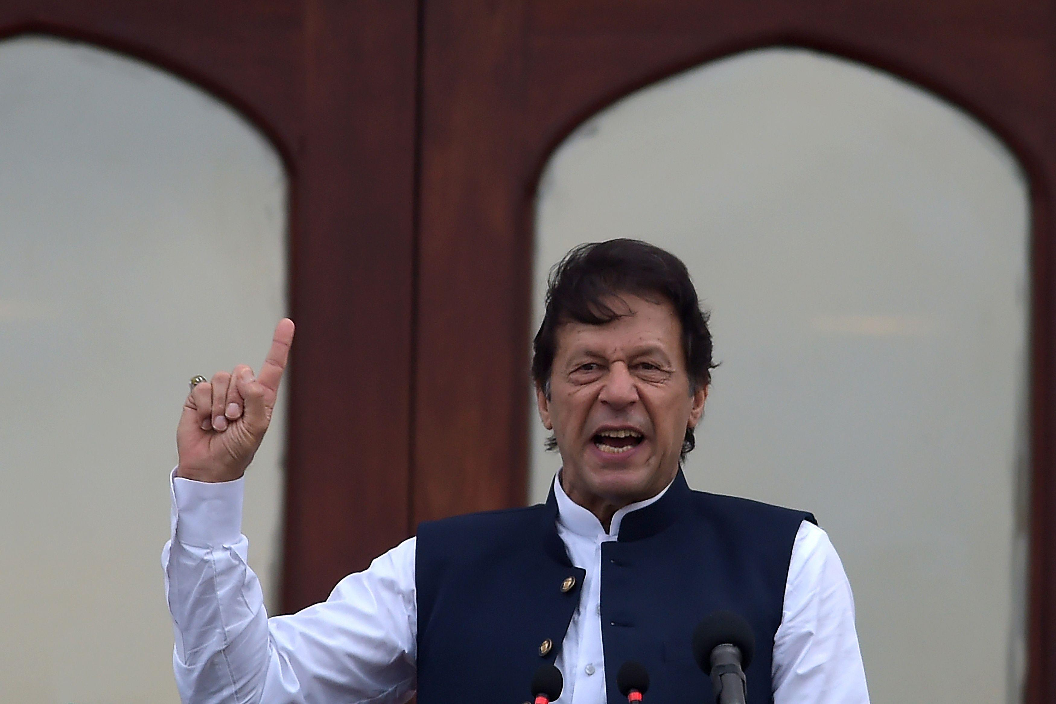 Pakistan army committing genocide in Balochistan: Imran Khan