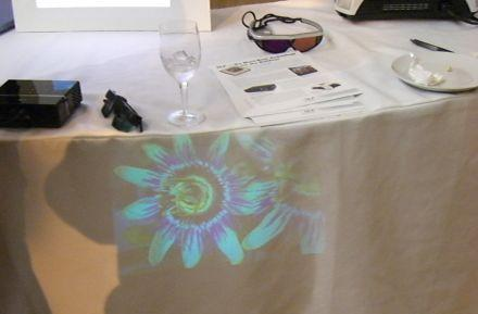 """Mini projectors spark worries about """"visual pollution"""""""