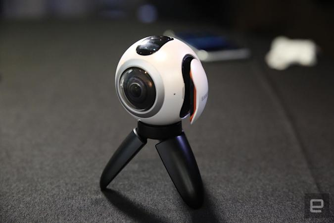 Samsung will finally sell its cutesy 360-degree camera in the US