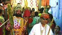 Bizarre tradition: Get smacked and get married