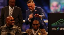 Last stop of Mayweather-McGregor media tour goes sideways with gay slur