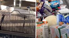 Man's simple hack to cut time at supermarket