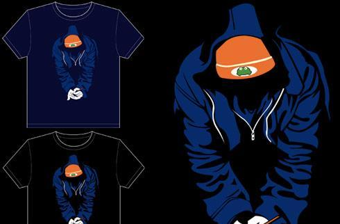 PaRappa t-shirt contest got the got the funky flow