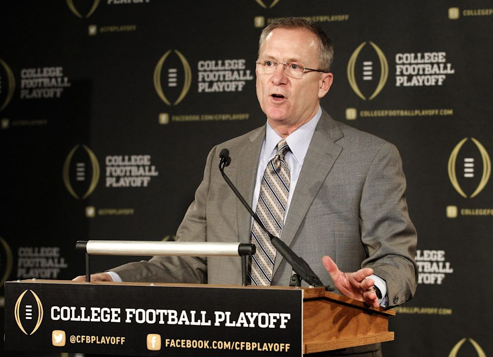 Rice joins playoff committee as 'student of game'